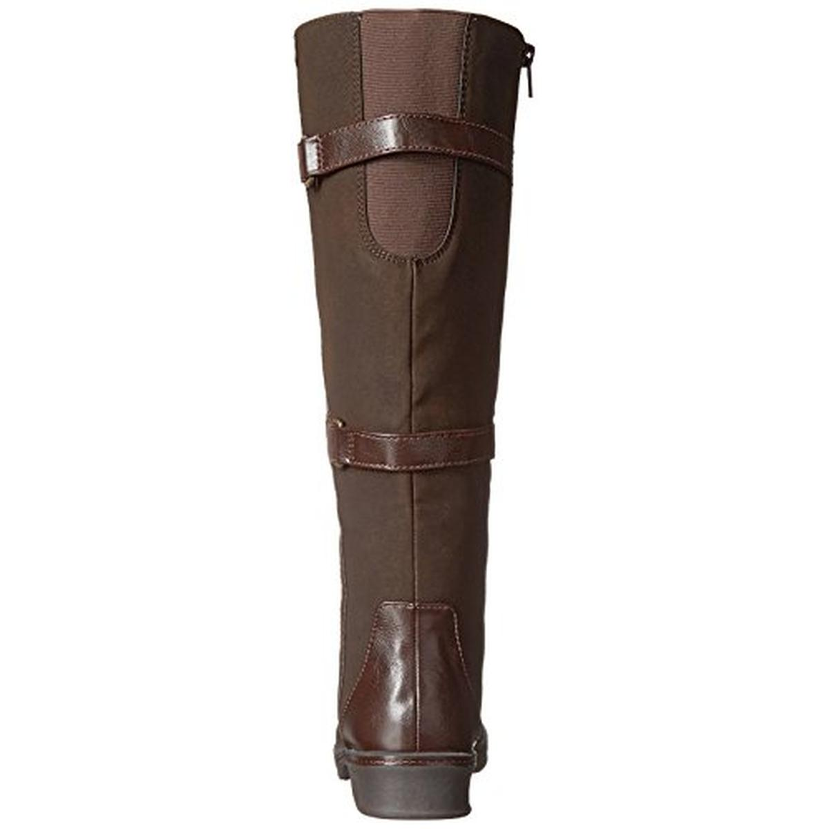 lifestride 7903 womens venture faux leather boots