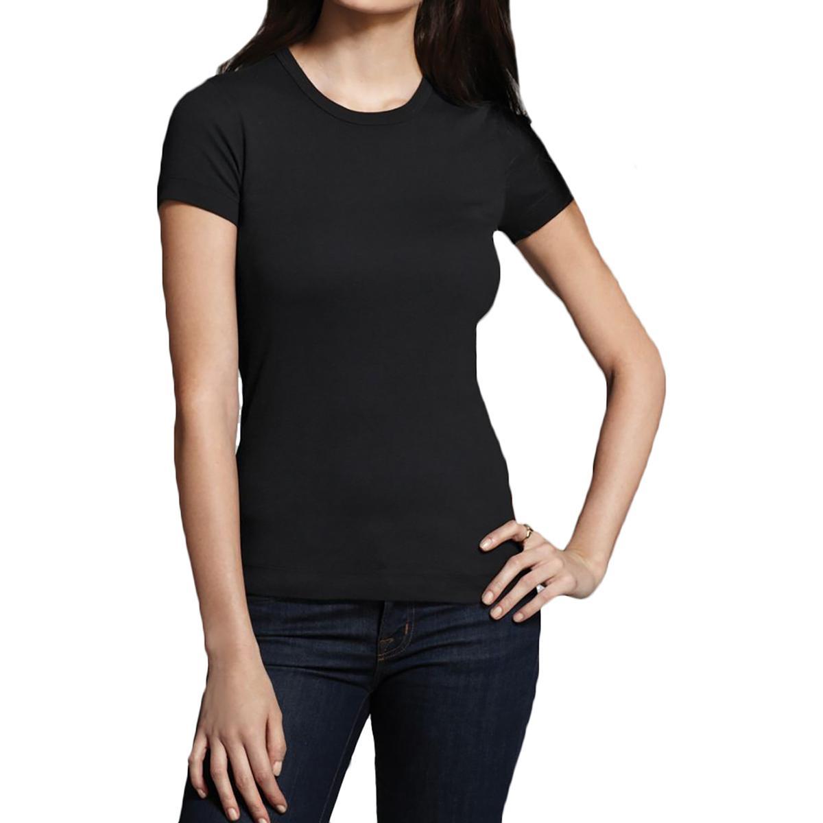Three dots 6226 womens cotton short sleeves crewneck t for Three dots t shirts