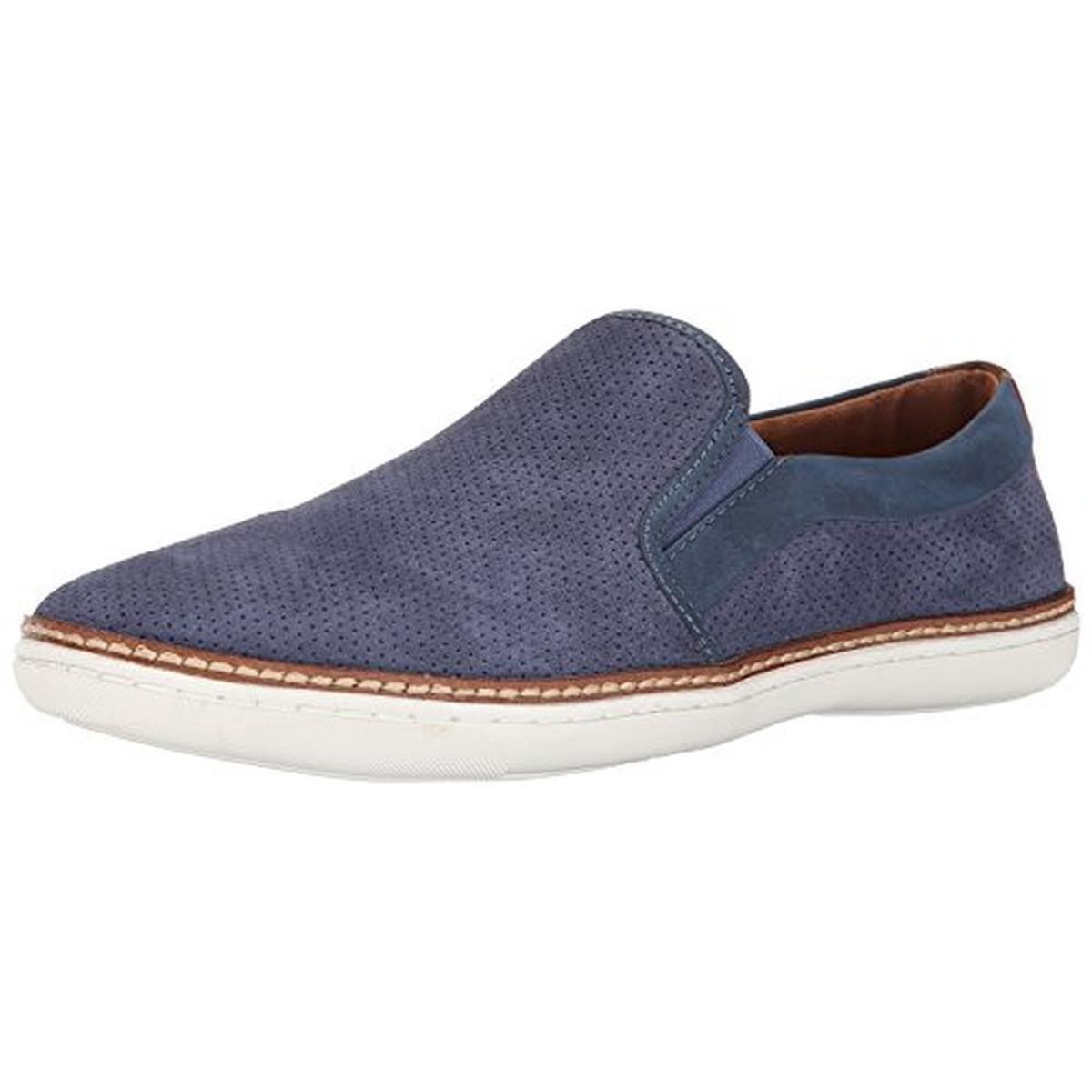 steve madden 5095 mens ferrow suede perforated casual