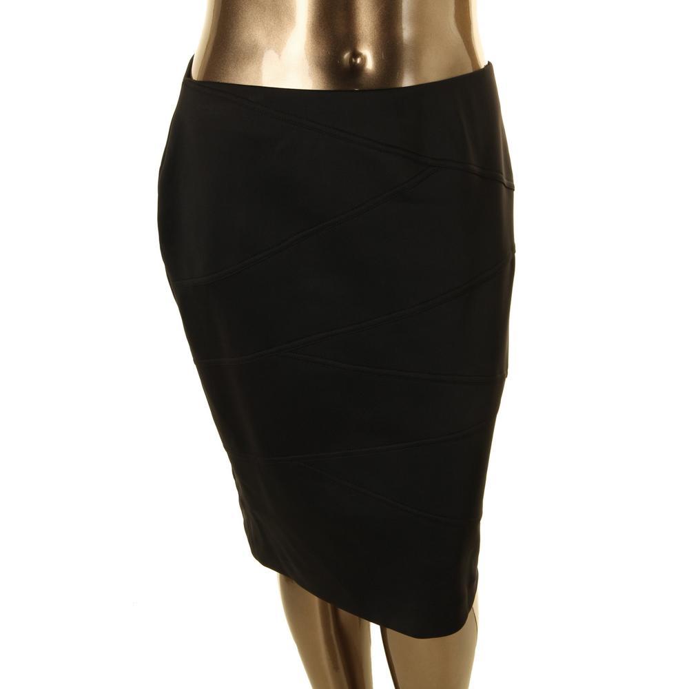 alfani 4408 new womens black knee length bandage pencil