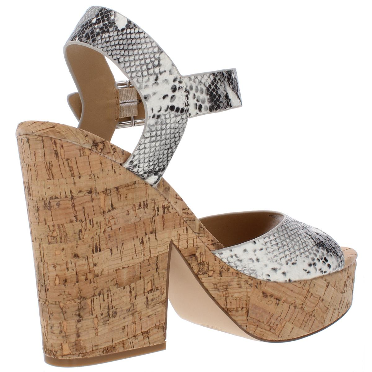 Steve Madden Womens Jess Open Toe Dressy Platform Sandals Shoes BHFO 0569