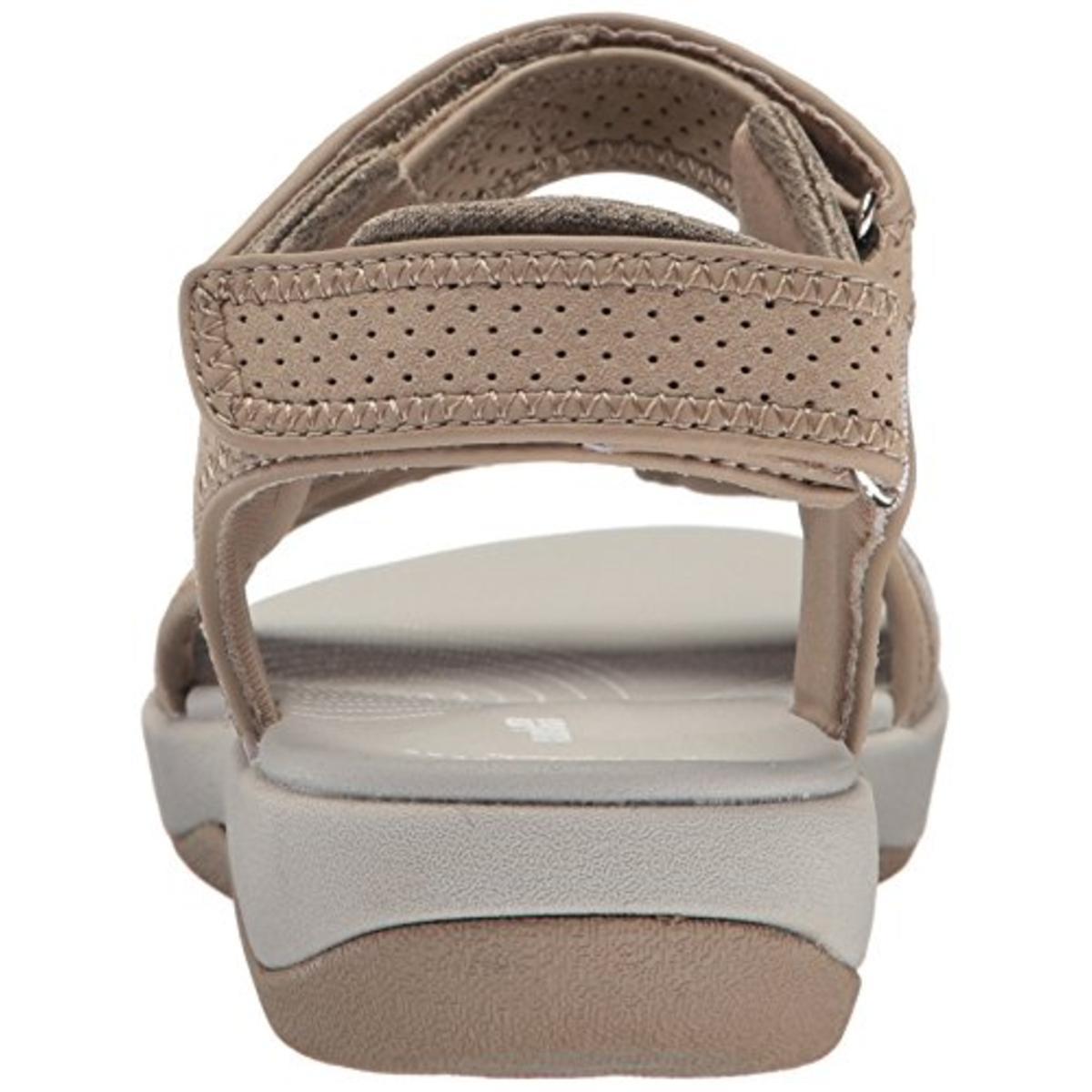 bfc28c8cc63 Clarks Brizo Sammie Womens Laser Cut Gladiator Flat Sandals