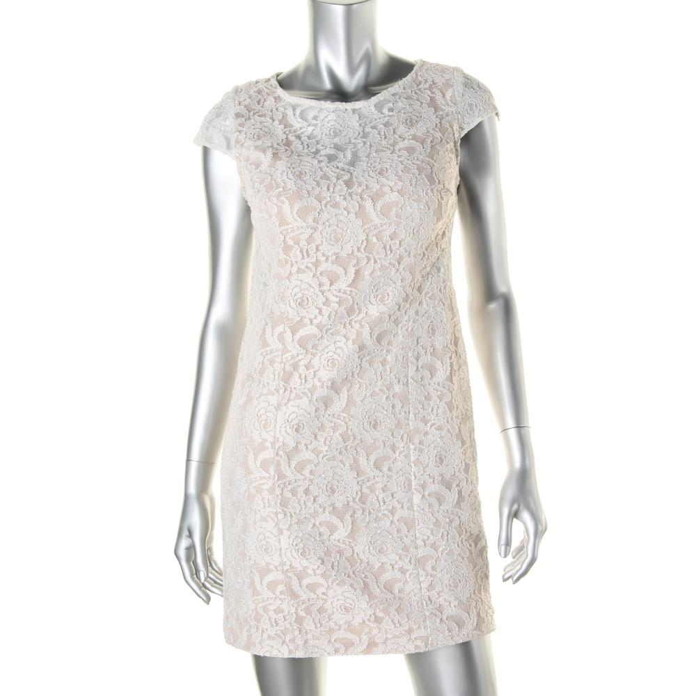 HAILEY LOGAN Juniors Lace Fitted Party Dress