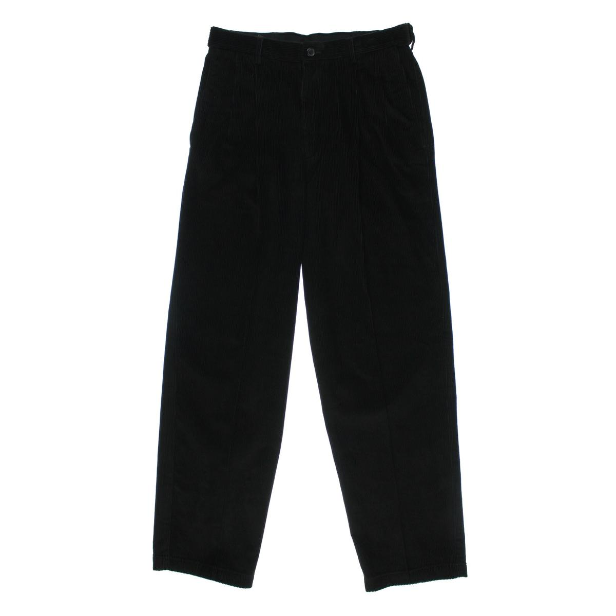 Mens Comfort Waist Corduroy Pants - Pant Row