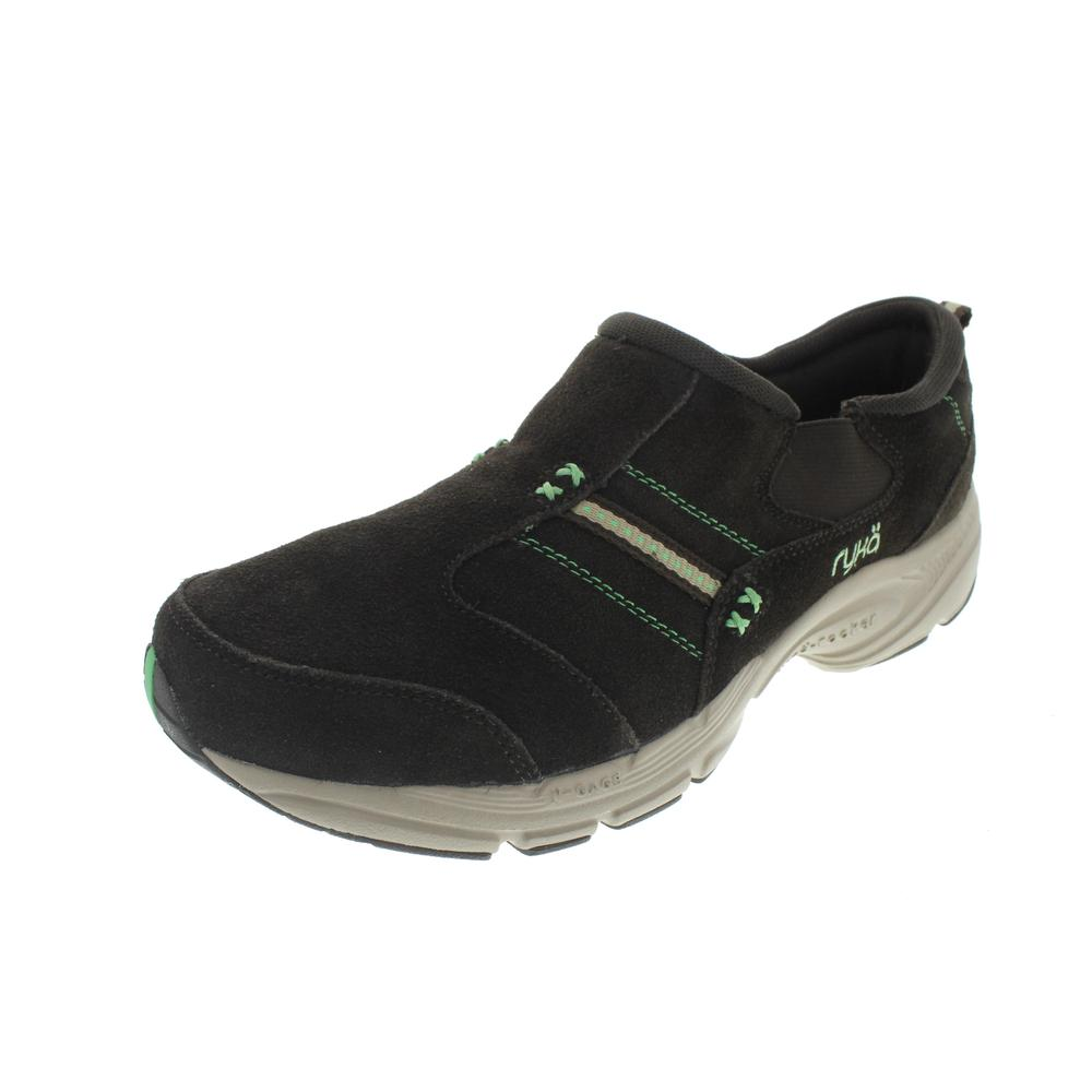 ryka new rocker suede slip on athletic casual shoes bhfo