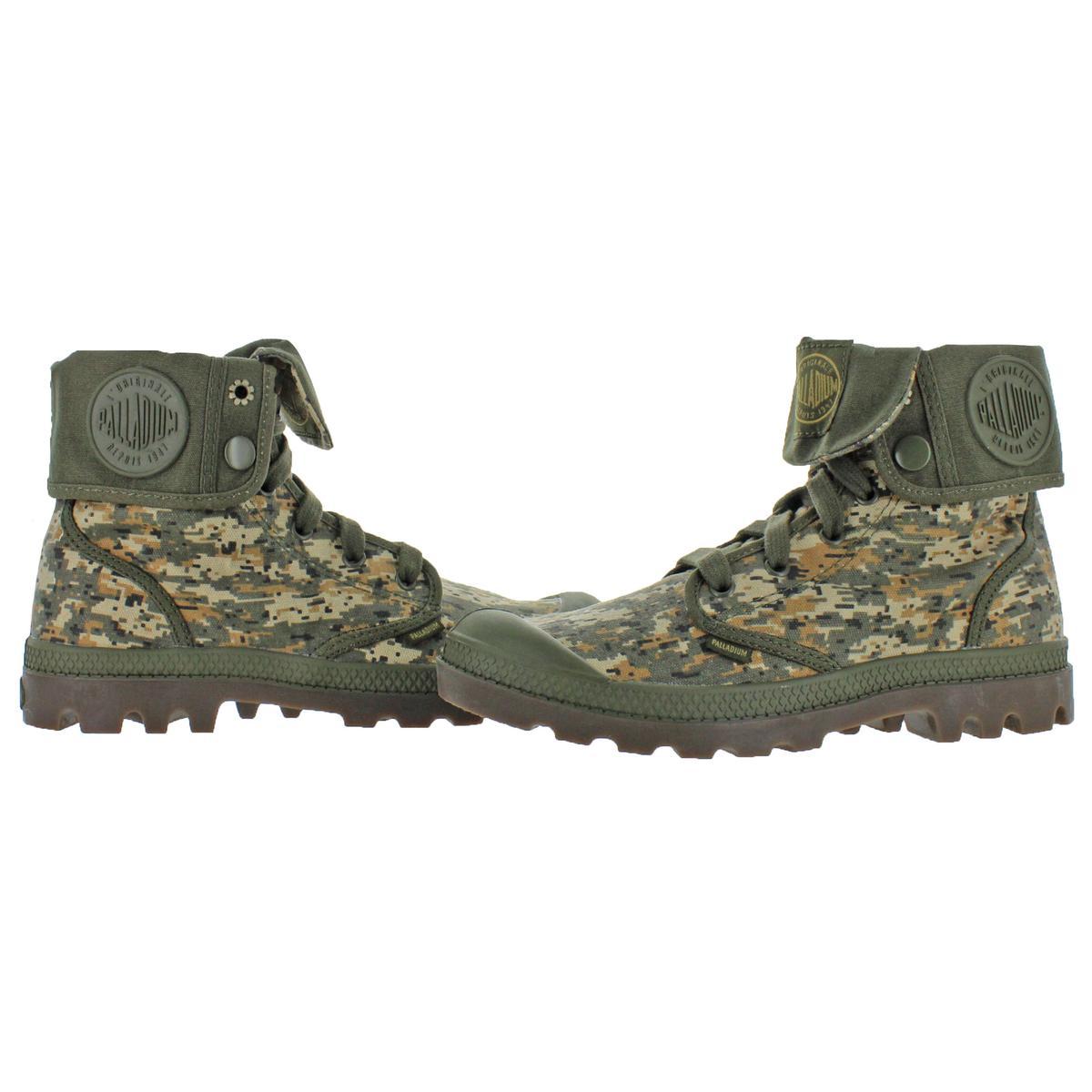 Palladium Baggy Women/'s Canvas Fold-Over Combat Boots