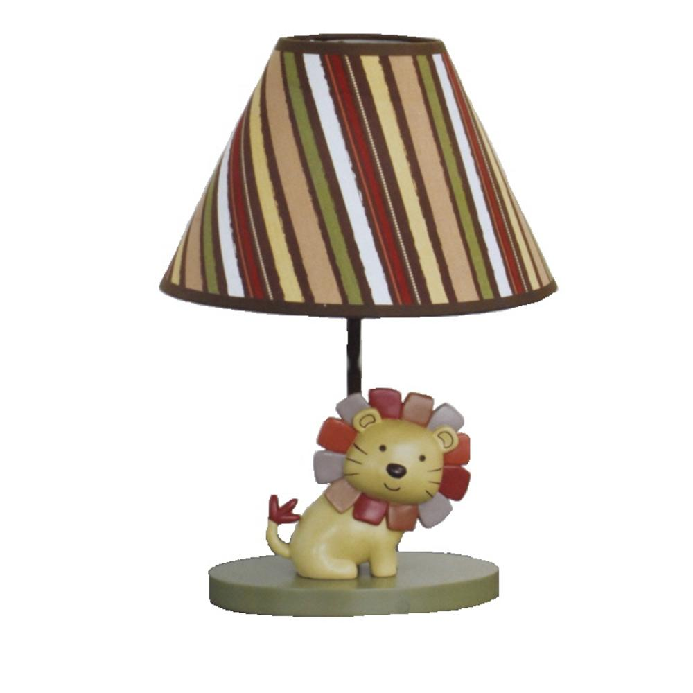 Cocalo baby new nali jungle yellow lion baby boy nursery for Jungle floor lamp for nursery
