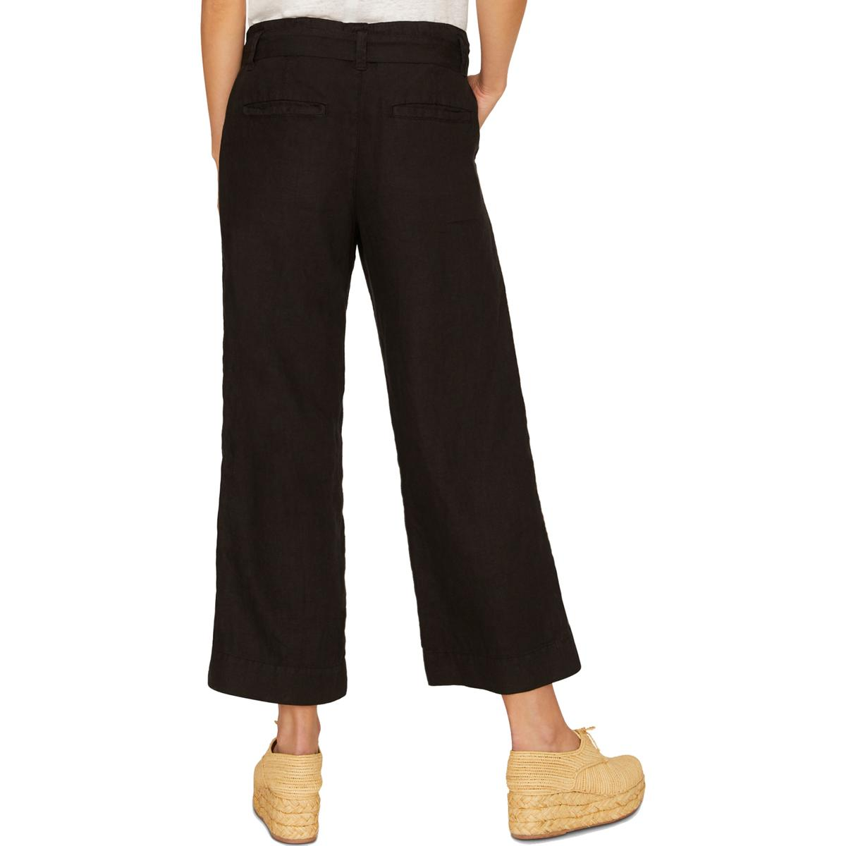 Sanctuary Womens Inland Linen Cropped Casual Pants BHFO 8460