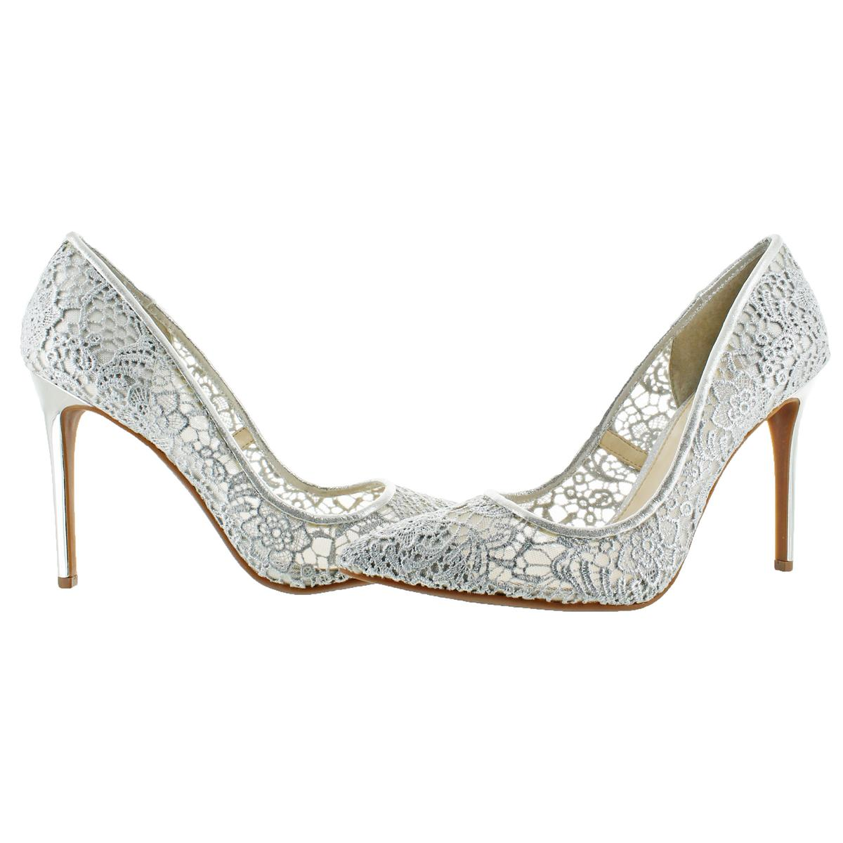 Jessica Simpson Praylee2 Women/'s Crochet Floral Print Stiletto Shoes