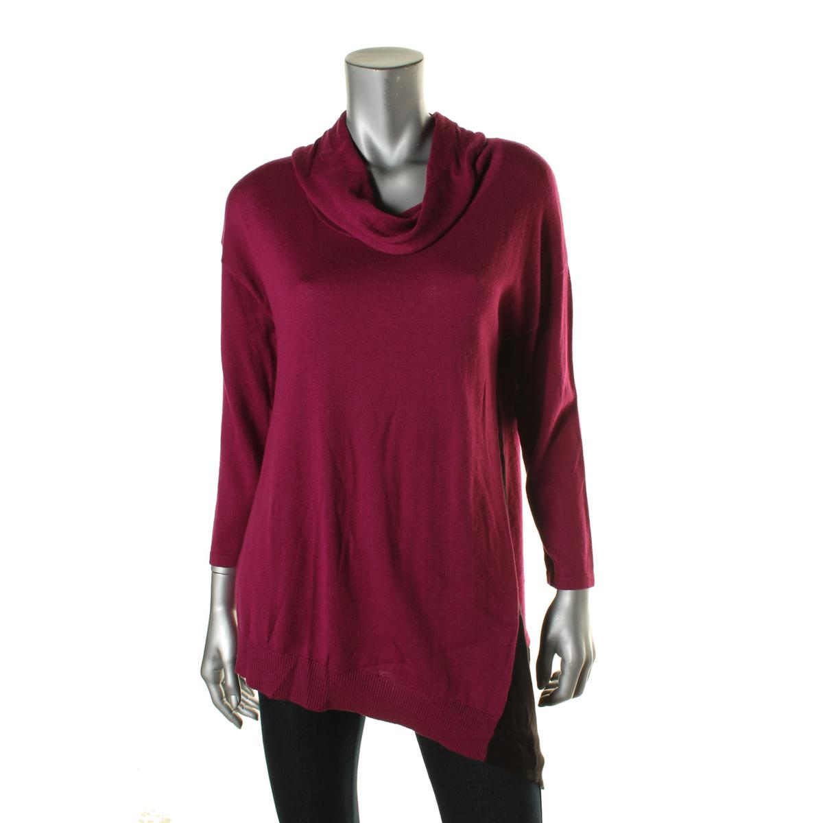 avec 9532 womens knit contrast trim long sleeves pullover. Black Bedroom Furniture Sets. Home Design Ideas