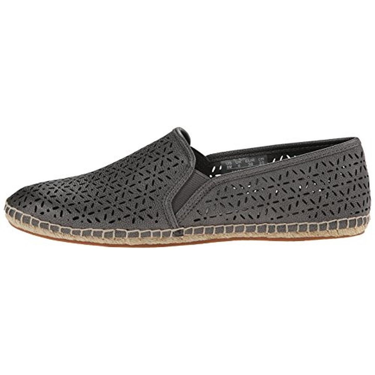 lifestride 0489 womens jaden cut out slip on espadrilles