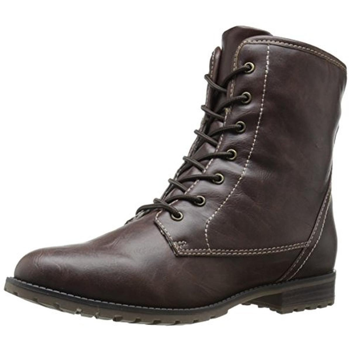 sporto 4517 womens brown ankle winter boots shoes 8