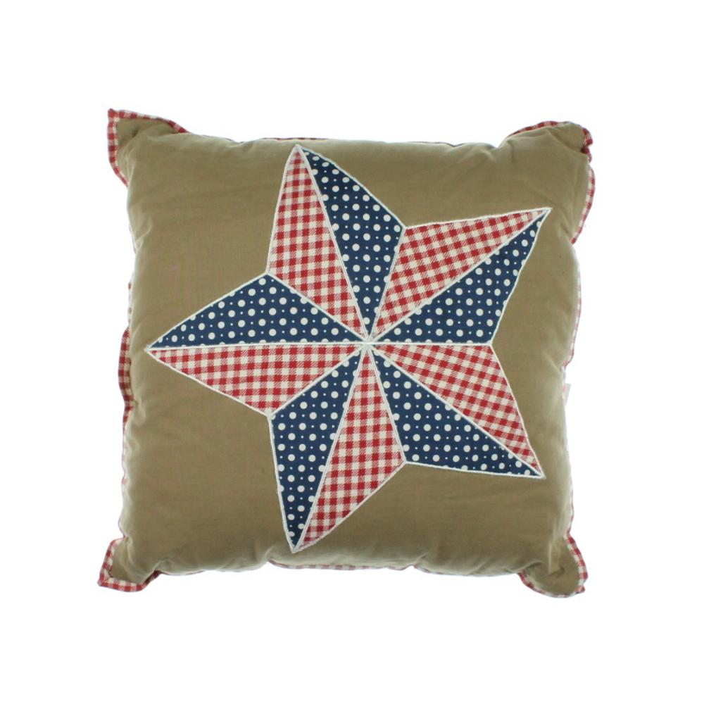 Martha Stewart Decorative Bed Pillows : Martha Stewart NEW Brown Embroidered Applique Decorative Pillow Bedding Bhfo eBay