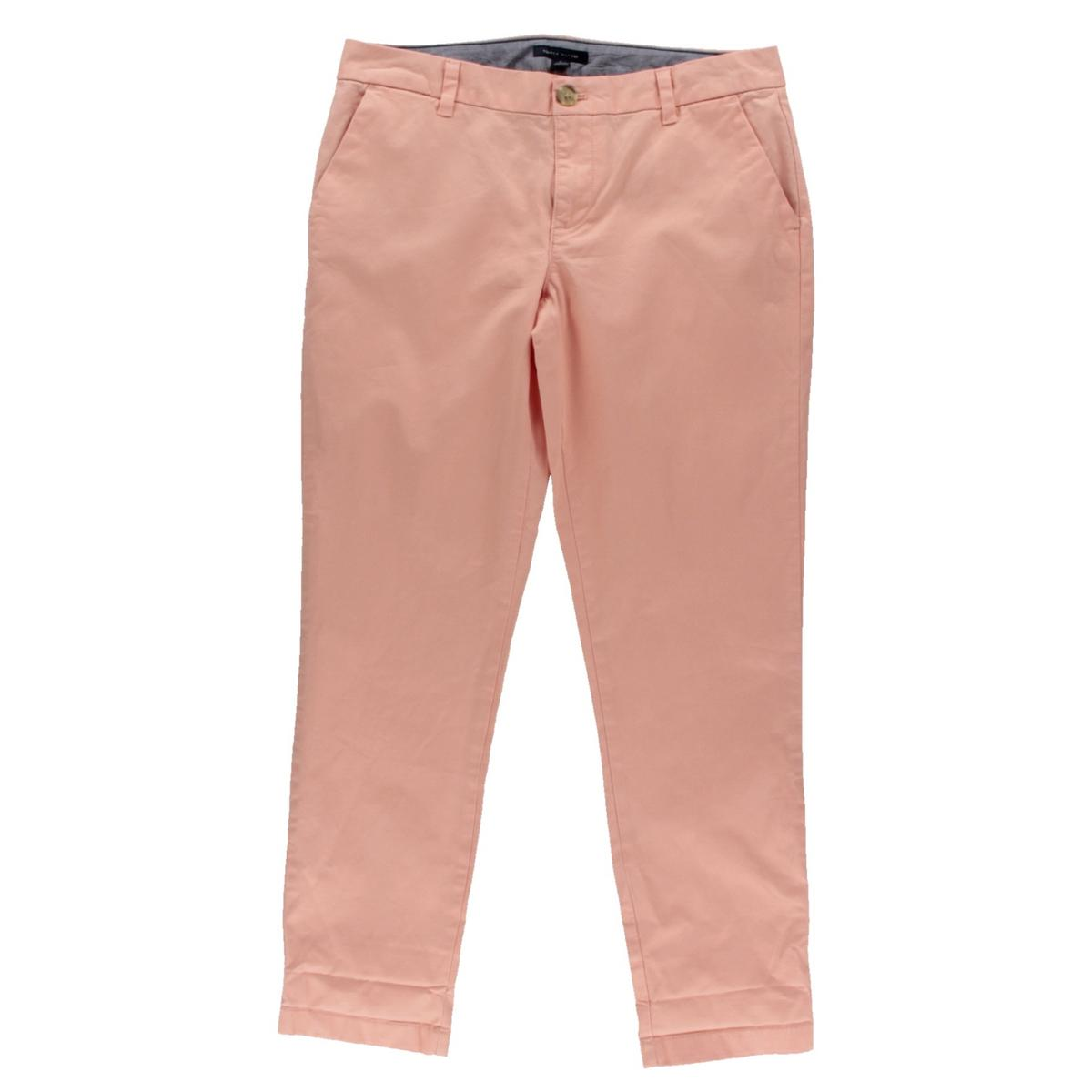 Innovative Tommy Hilfiger Pants Chinos Womens Straight Khaki Flat Front 0 2 4 6 8