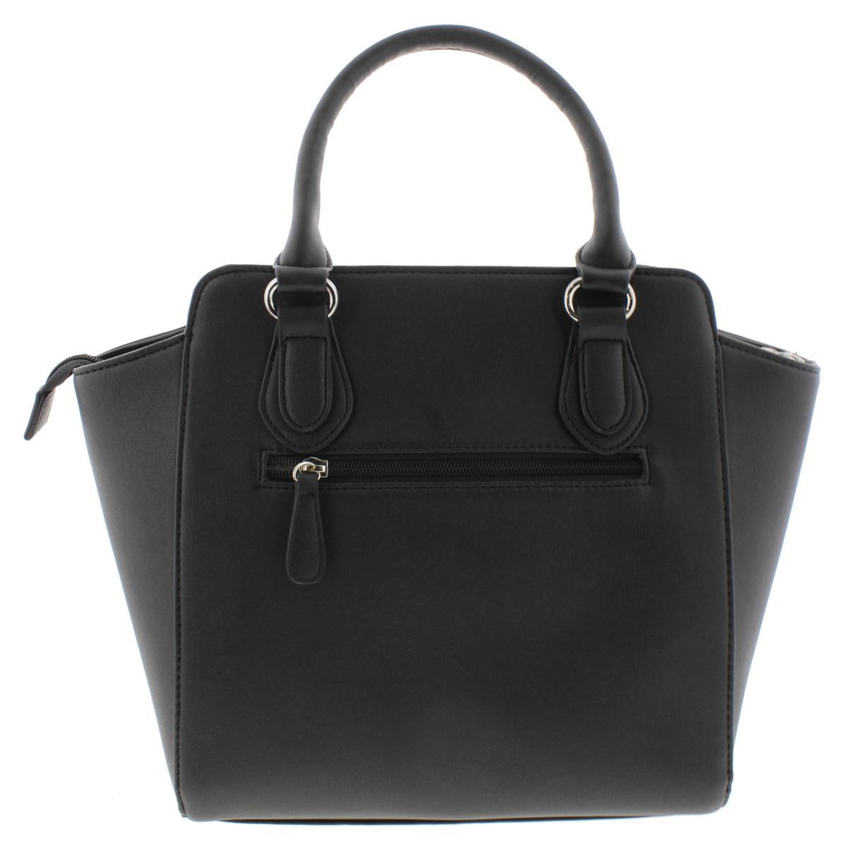 Catherine Malandrino 7090 Womens Collette Leather Tote Handbag Purse BHFO