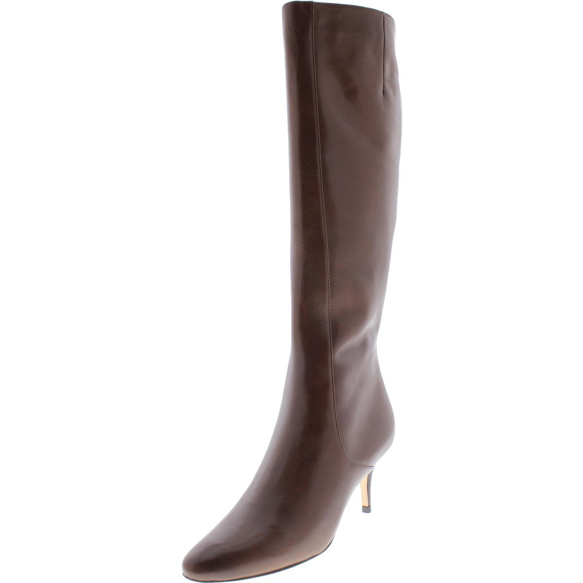cole haan 2610 womens carlyle brown heels dress boots