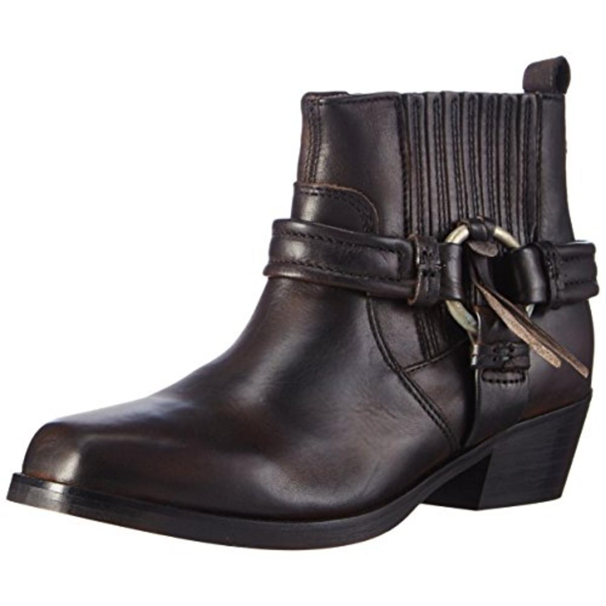 diesel 3667 womens harless suede harness ankle boots shoes