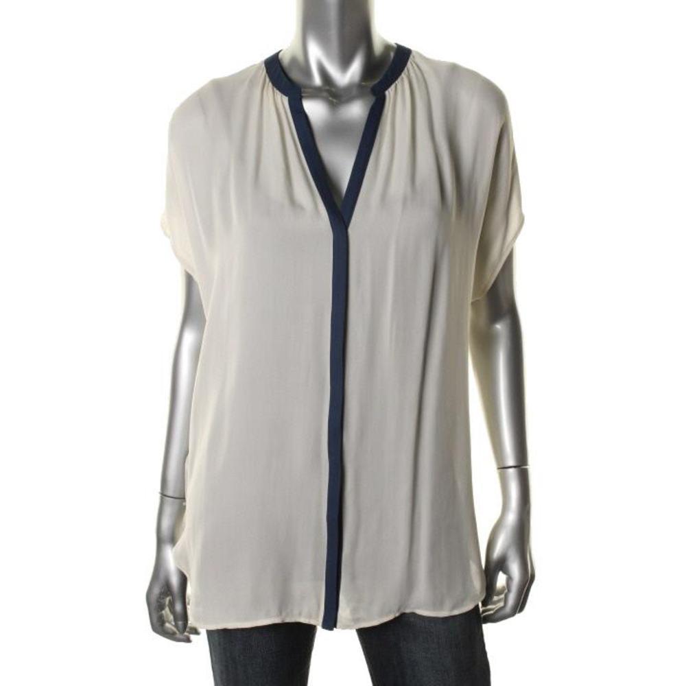 White Silk Blouse Ebay 33