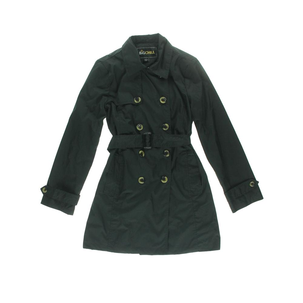 Big Chill Double-Breasted Long Sleeves Trench Coat