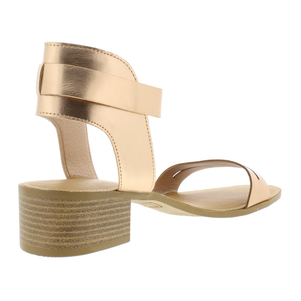 American Rag Womens Alecta Faux Leather Stacked Party Heels Shoes BHFO 7080