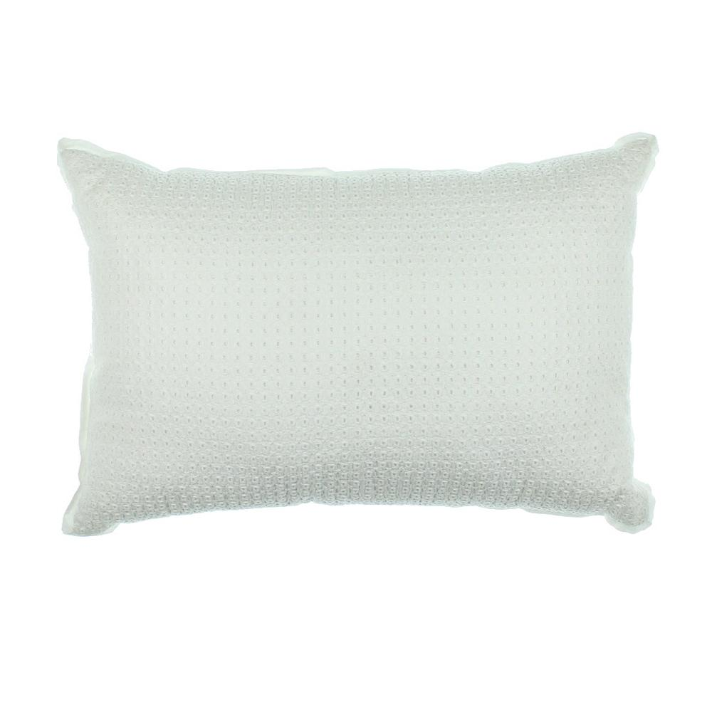 Martha Stewart Decorative Bed Pillows : MARTHA STEWART NEW Colette White Cotton Eyelet Decorative Pillow Bedding BHFO eBay