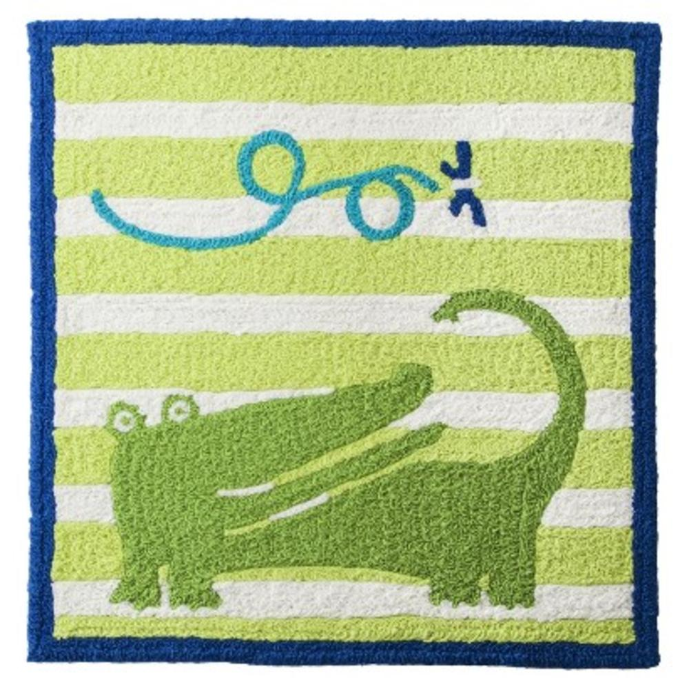 Zutano 5721 Alligator Green Baby Boys Square Hook Nursery