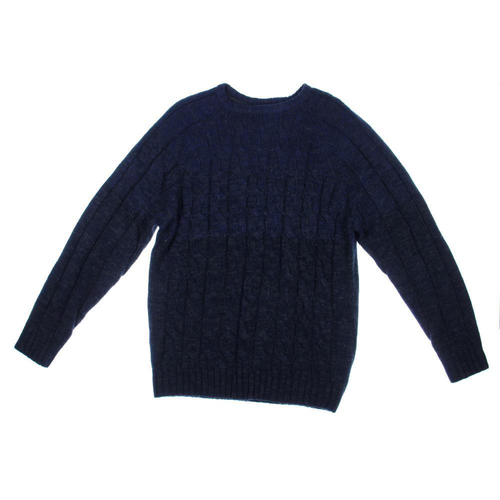 WEATHERPROOF Cable Knit Marled Pullover Sweater