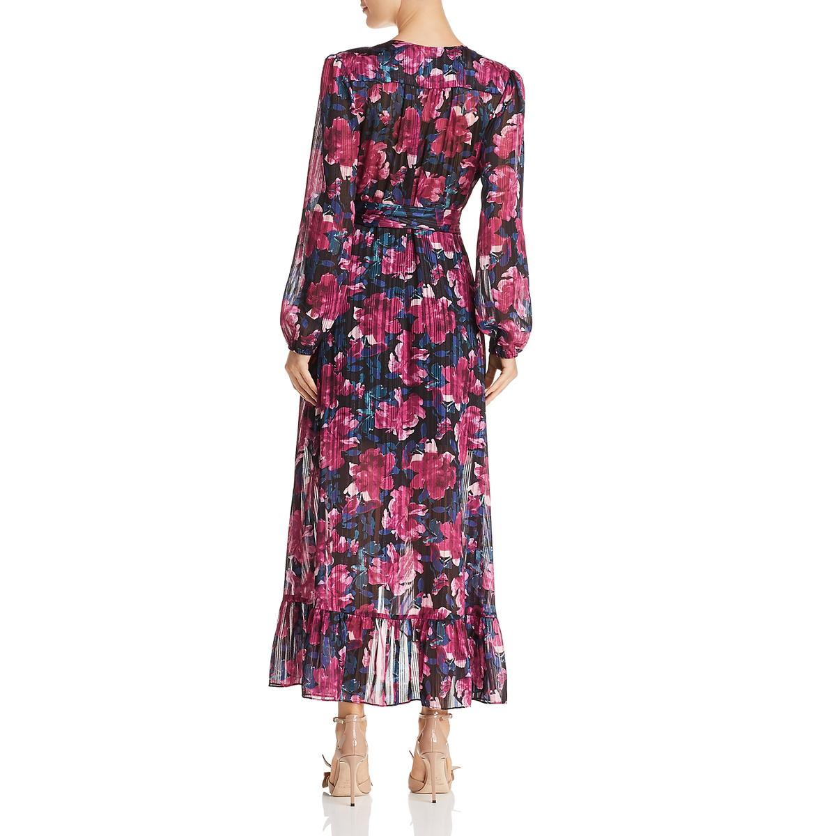 WAYF Womens Only You Wrap Floral Party Maxi Dress BHFO 5254