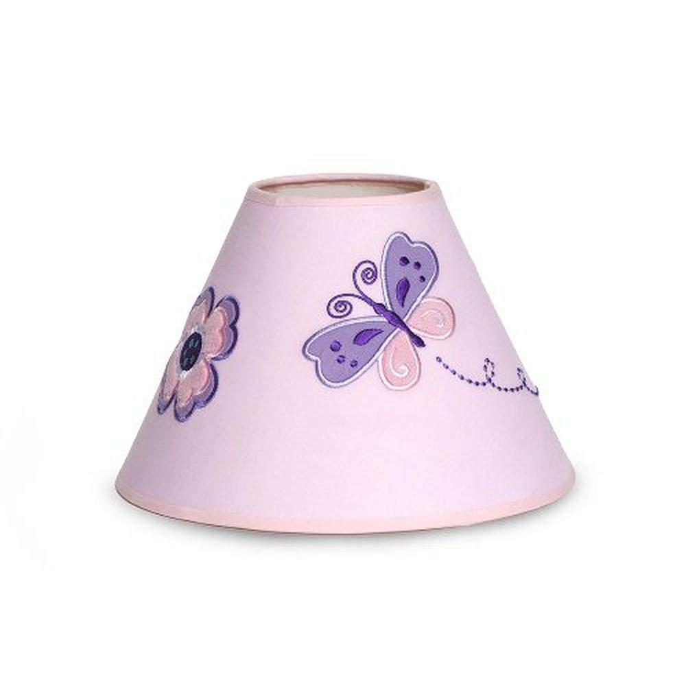 us new pink butterfly flow er baby girl custom nursery lamp shade bhfo. Black Bedroom Furniture Sets. Home Design Ideas