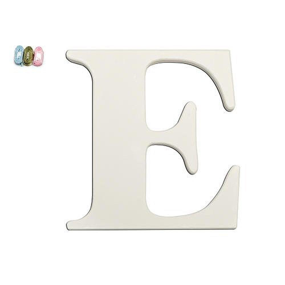 Wall Decor Letter T : Babies quot r us new e white wooden nursery letter wall