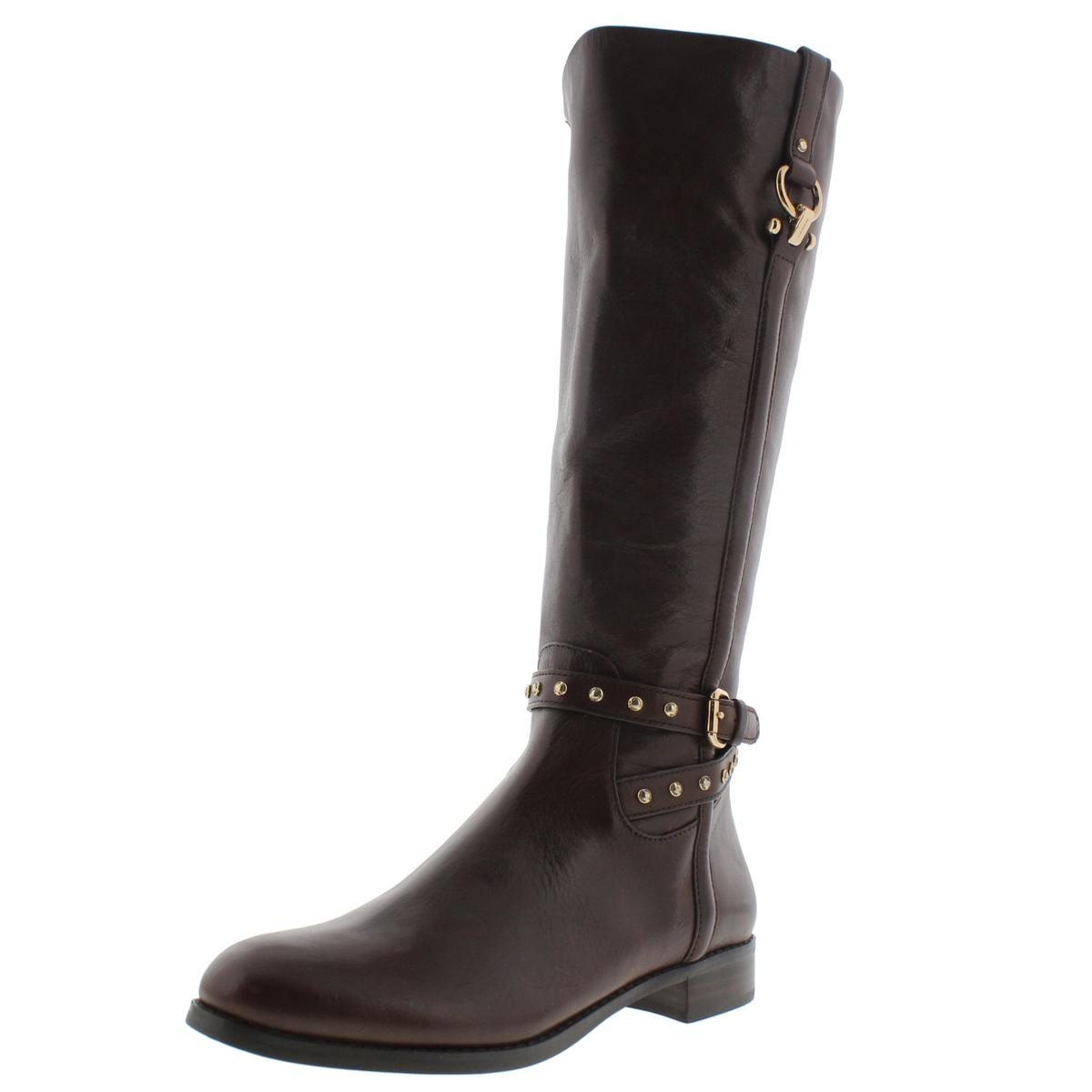 coach 7285 womens maddie brown leather boots shoes