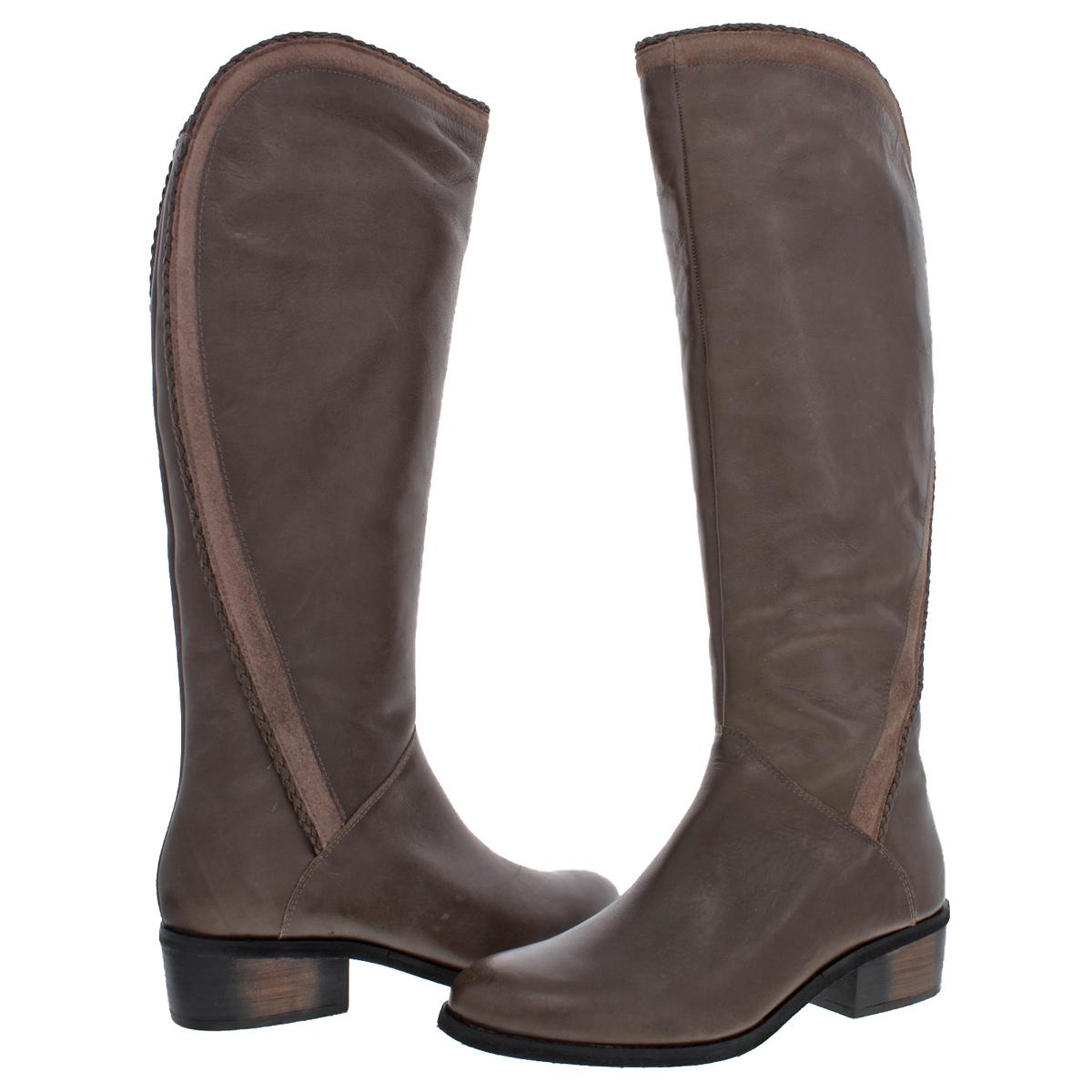 Naughty Monkey Womens Everlasting Leather Tall Riding Boots Shoes BHFO 9610