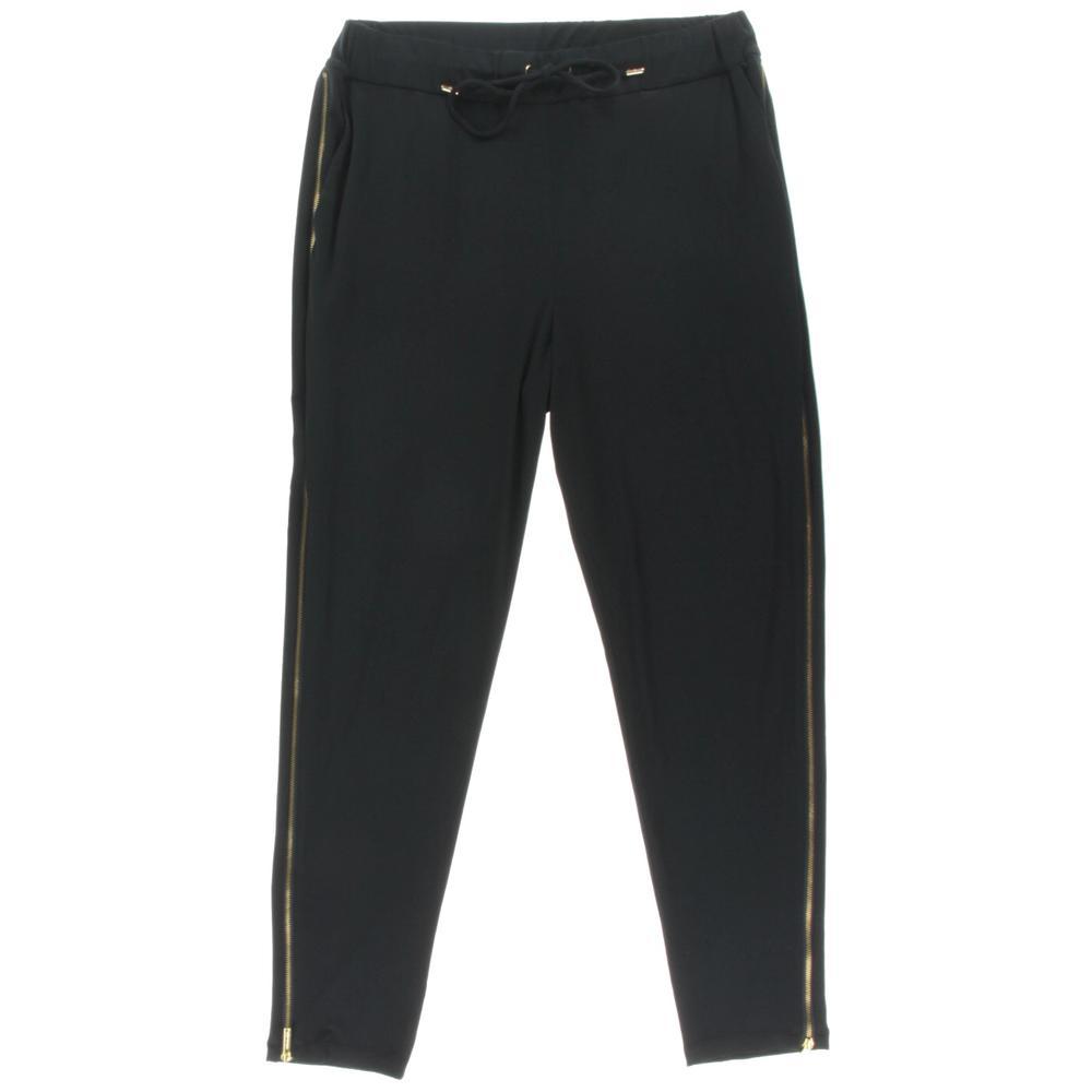 Michael Kors Drawstring Zipper Lounge Pants