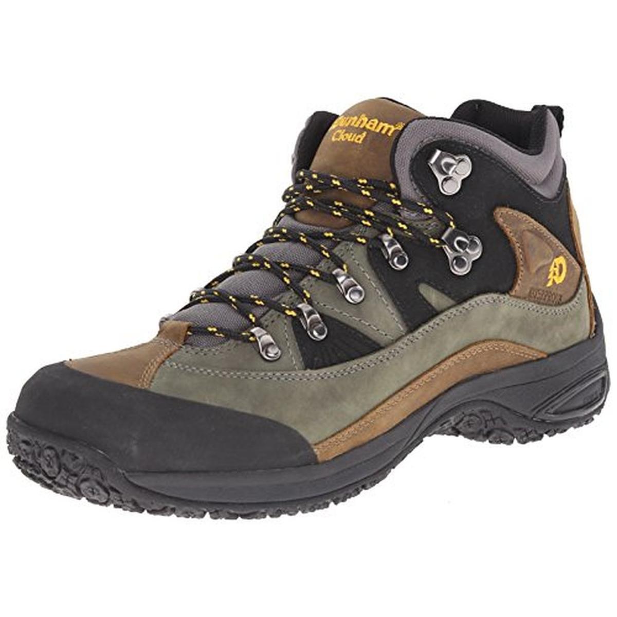 dunham by new balance 6429 mens cloud gray hiking boots 11