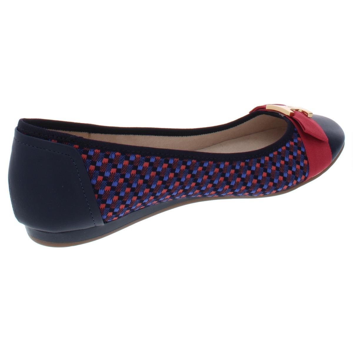 Charter Club Womens Pimmas Bow Slip On Ballet Flats Shoes BHFO 4389