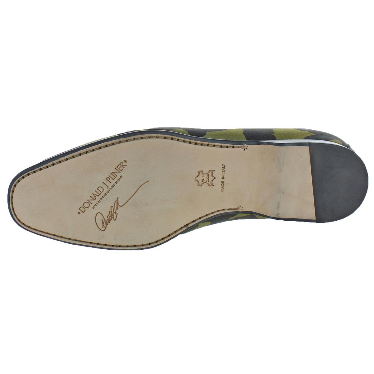 Donald J Pliner Mens Pont Man Made Dress Loafers Shoes BHFO 0865