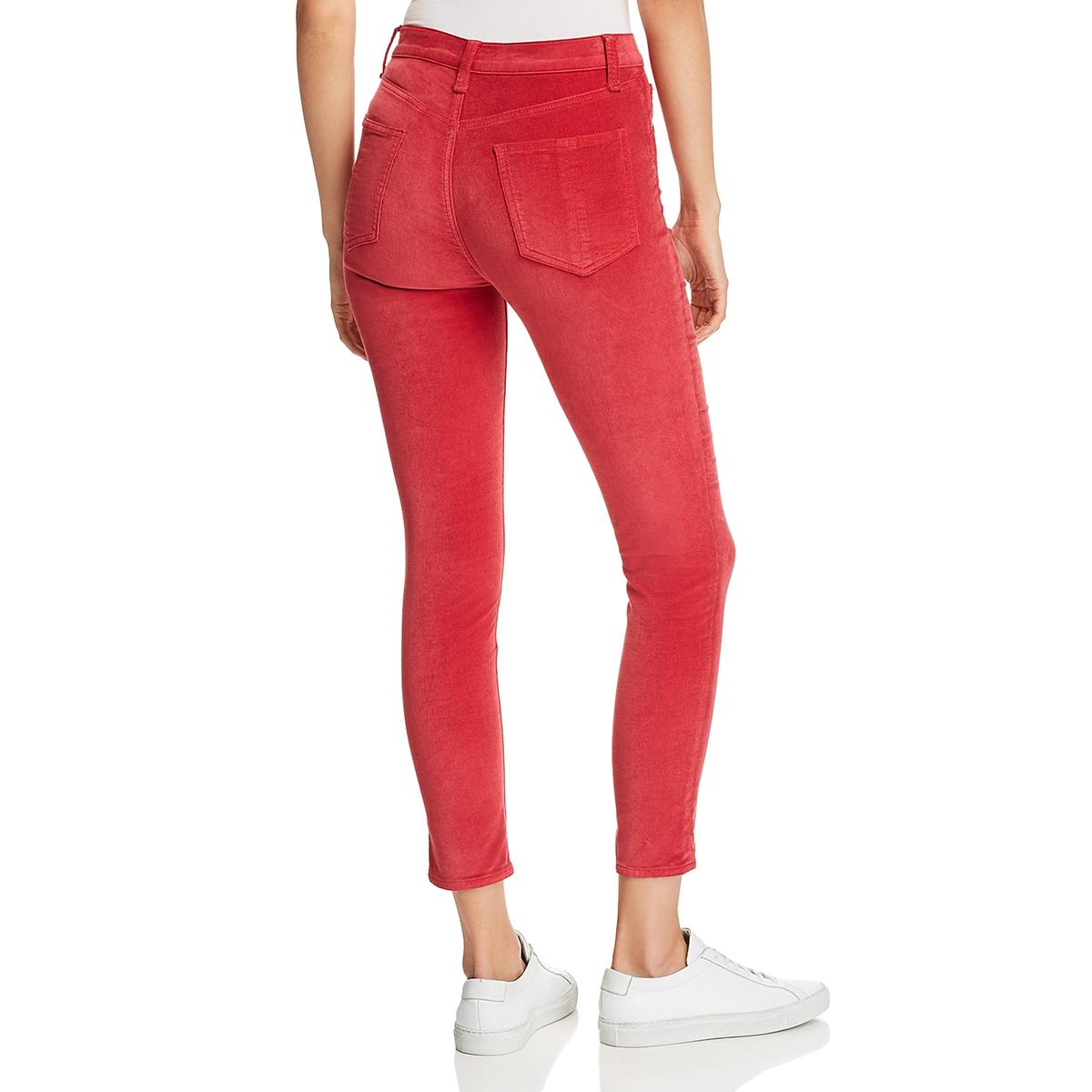 Rag /& Bone Women/'s Velvet High Rise Ankle Crop Skinny Jeans