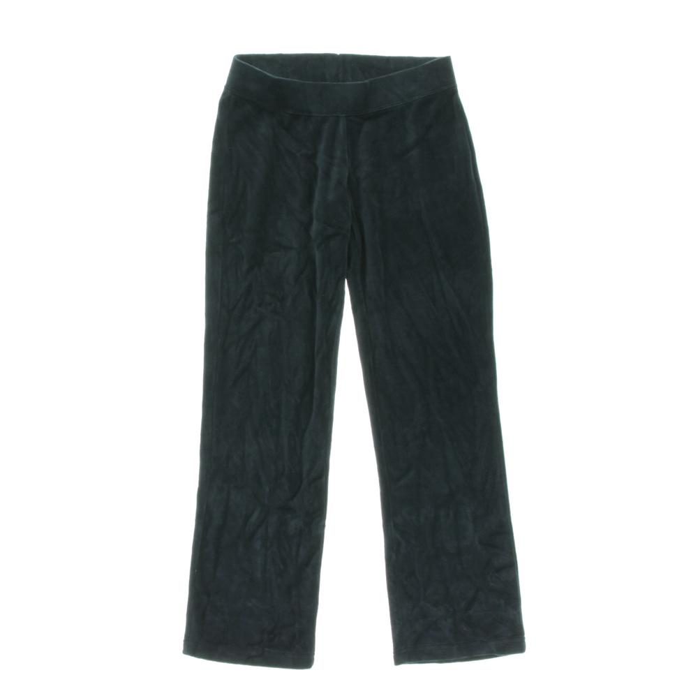 Style & Co. Petites Flat Front Solid Velour Pants