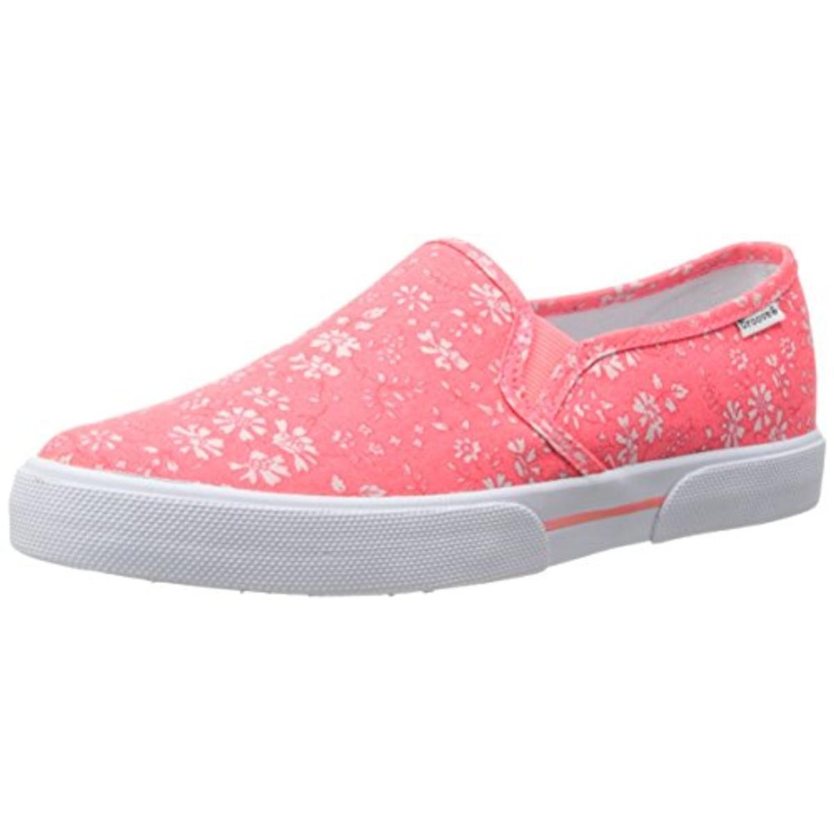 Canvas Slip On Shoes Ladies Retail