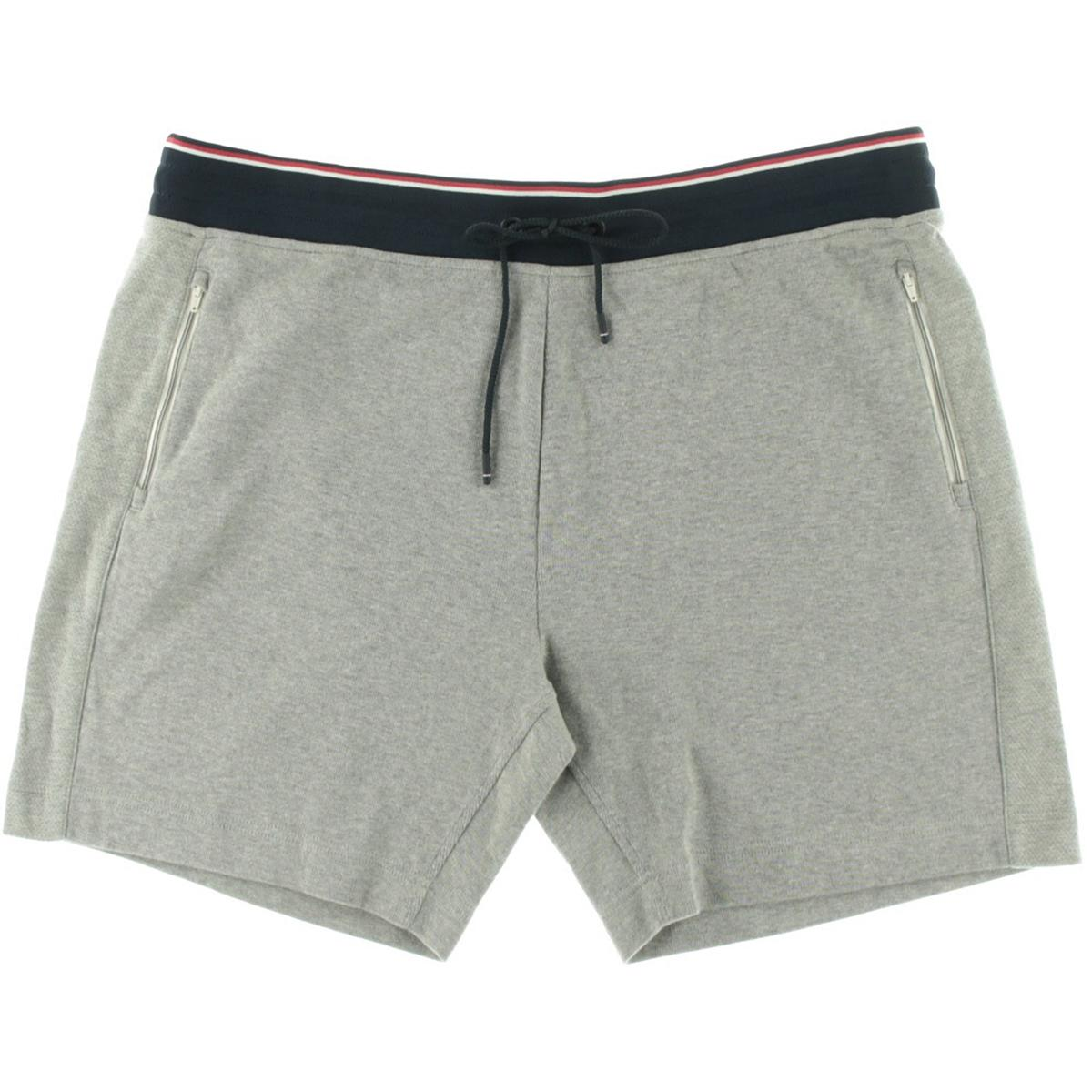 tommy hilfiger 5708 mens perforated track pull on athletic shorts bhfo ebay. Black Bedroom Furniture Sets. Home Design Ideas