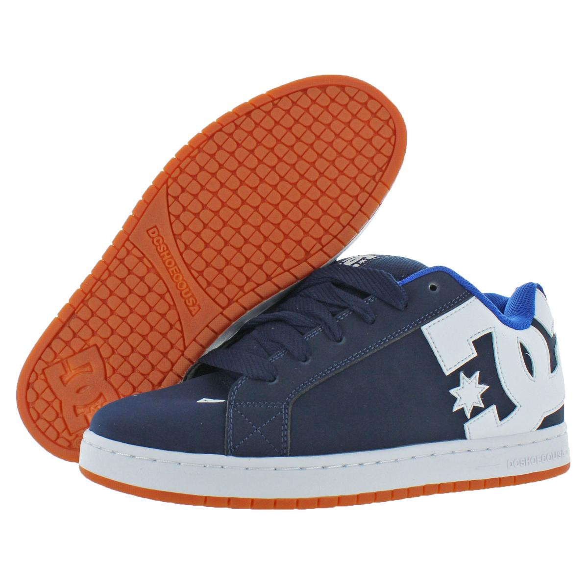 DC Shoes Men/'s Court Graffik Leather Padded Skate Shoes Sneakers