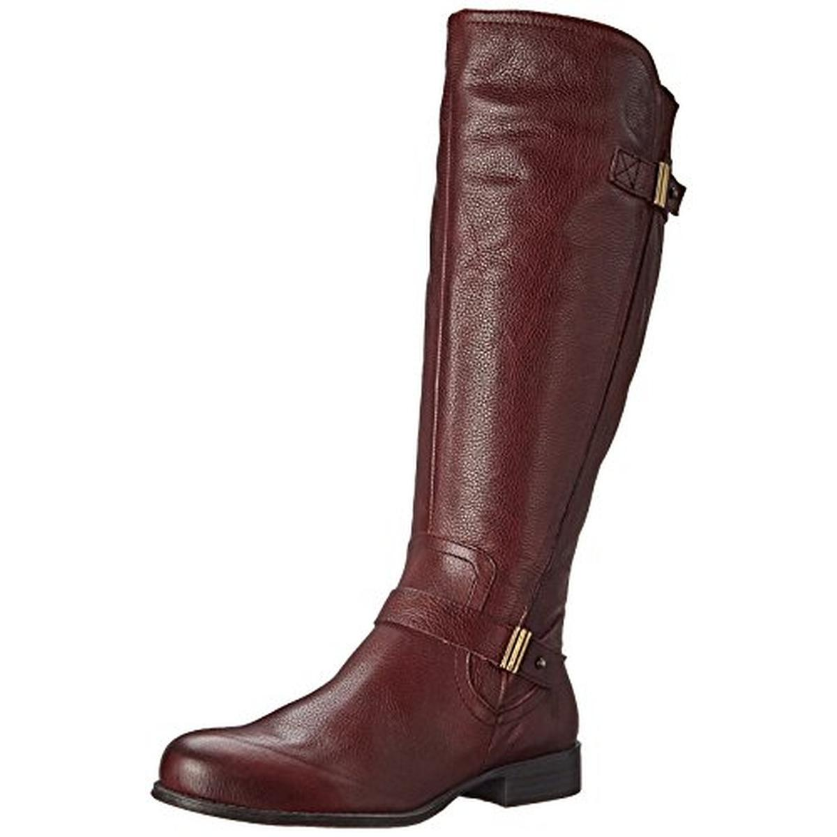 naturalizer 5907 womens joan wide calf leather knee high