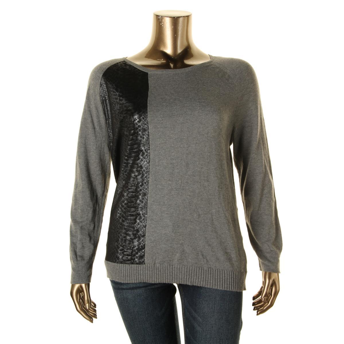 calvin klein jeans 3759 womens snake print boatneck. Black Bedroom Furniture Sets. Home Design Ideas