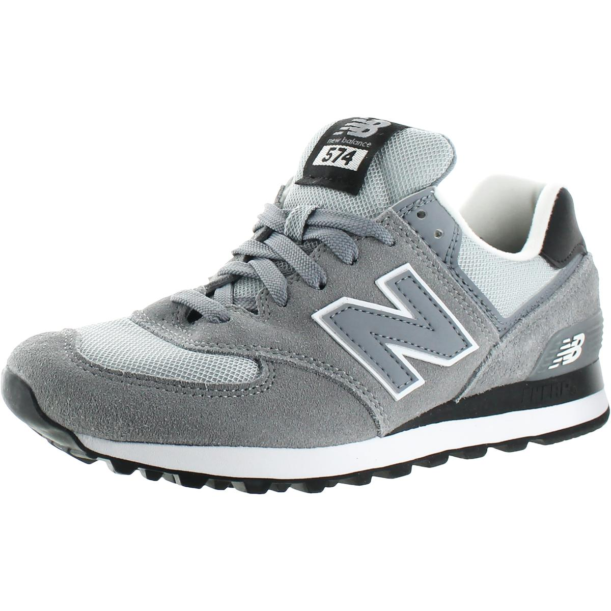best value d2647 749da New Balance 574 Core Plus Mens Suede Mesh Inset Athletic Shoes