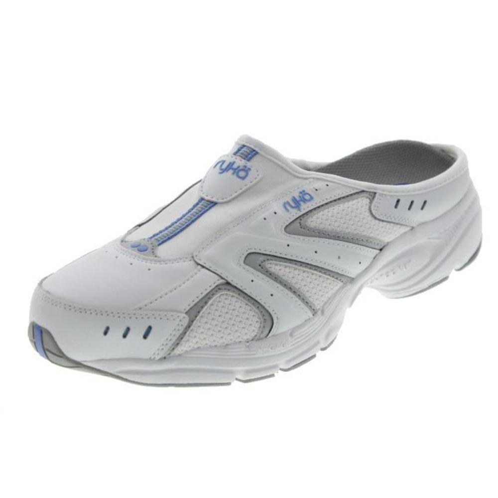 RYKA Womens Rocker Leather Athletic Mules Casual Shoes BHFO   EBay