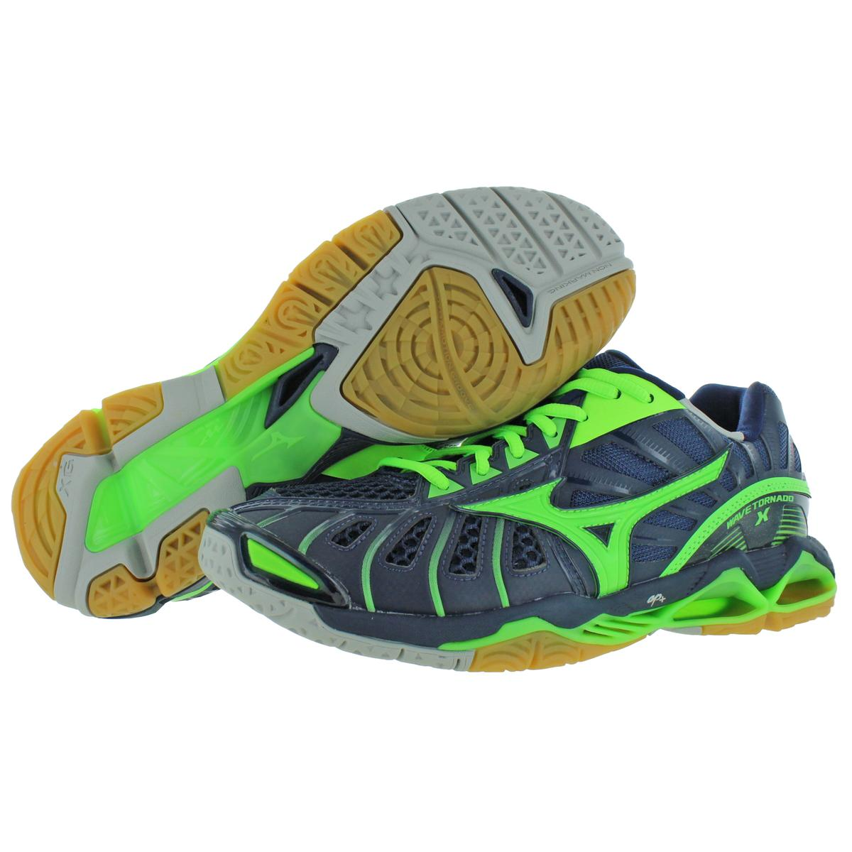 MIZUNO homme wave Tornado x Lacets Low-Top Volley-ball Baskets Chaussures BHFO 0335
