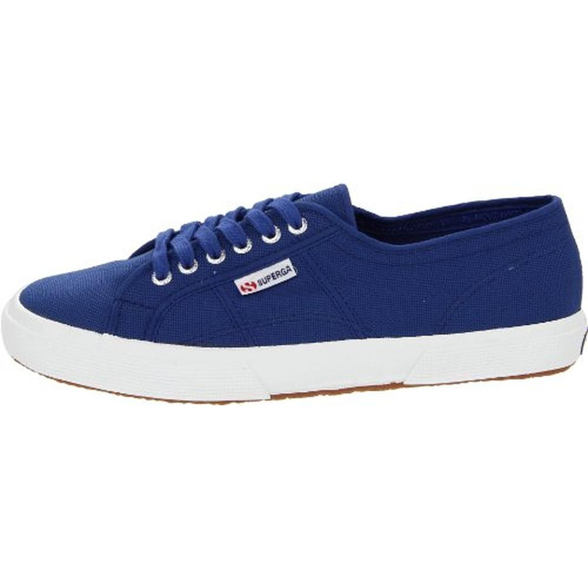 Superga Mens 2750 Classic Canvas Low-Top Lace-Up Sneakers Shoes BHFO 3708