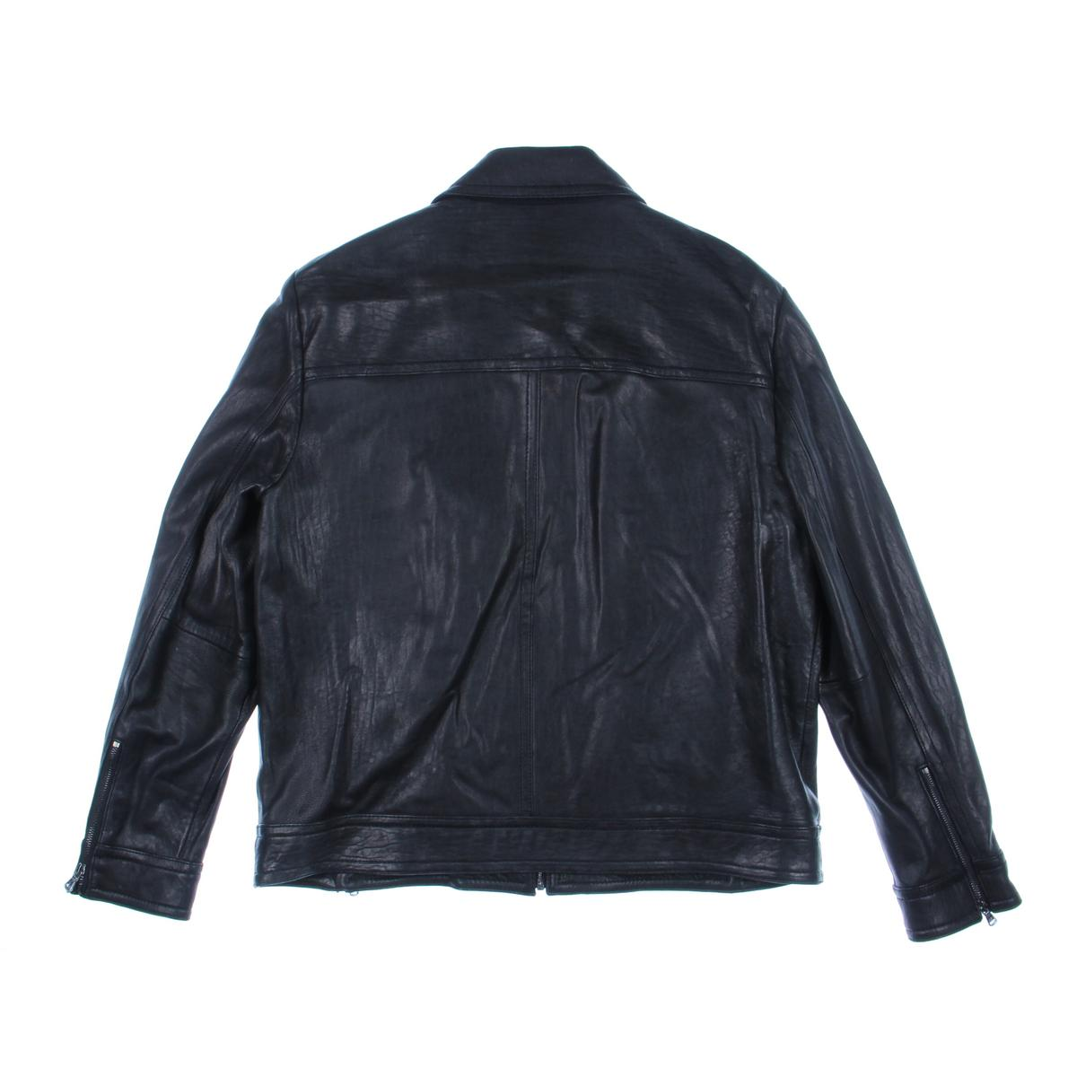 Kenneth cole leather jackets