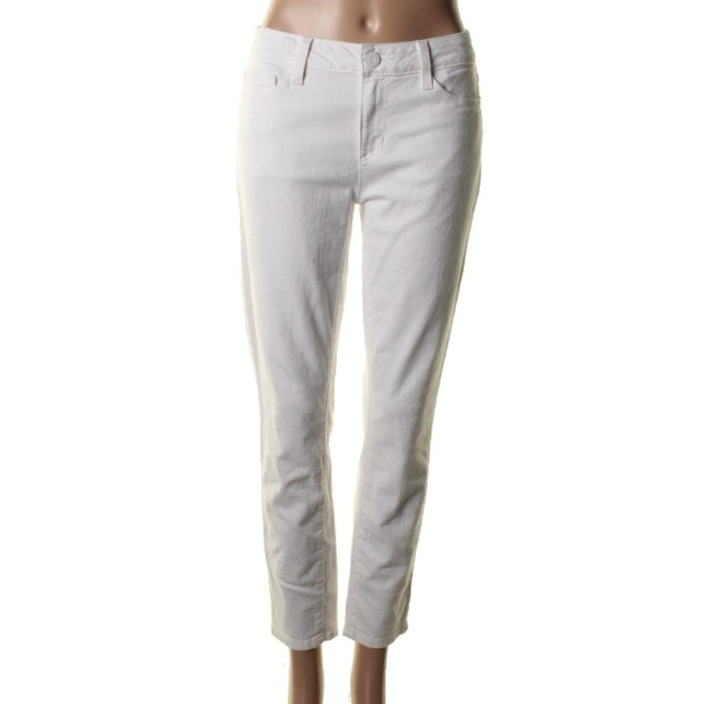 tommy hilfiger new white denim classic skinny ankle jeans. Black Bedroom Furniture Sets. Home Design Ideas