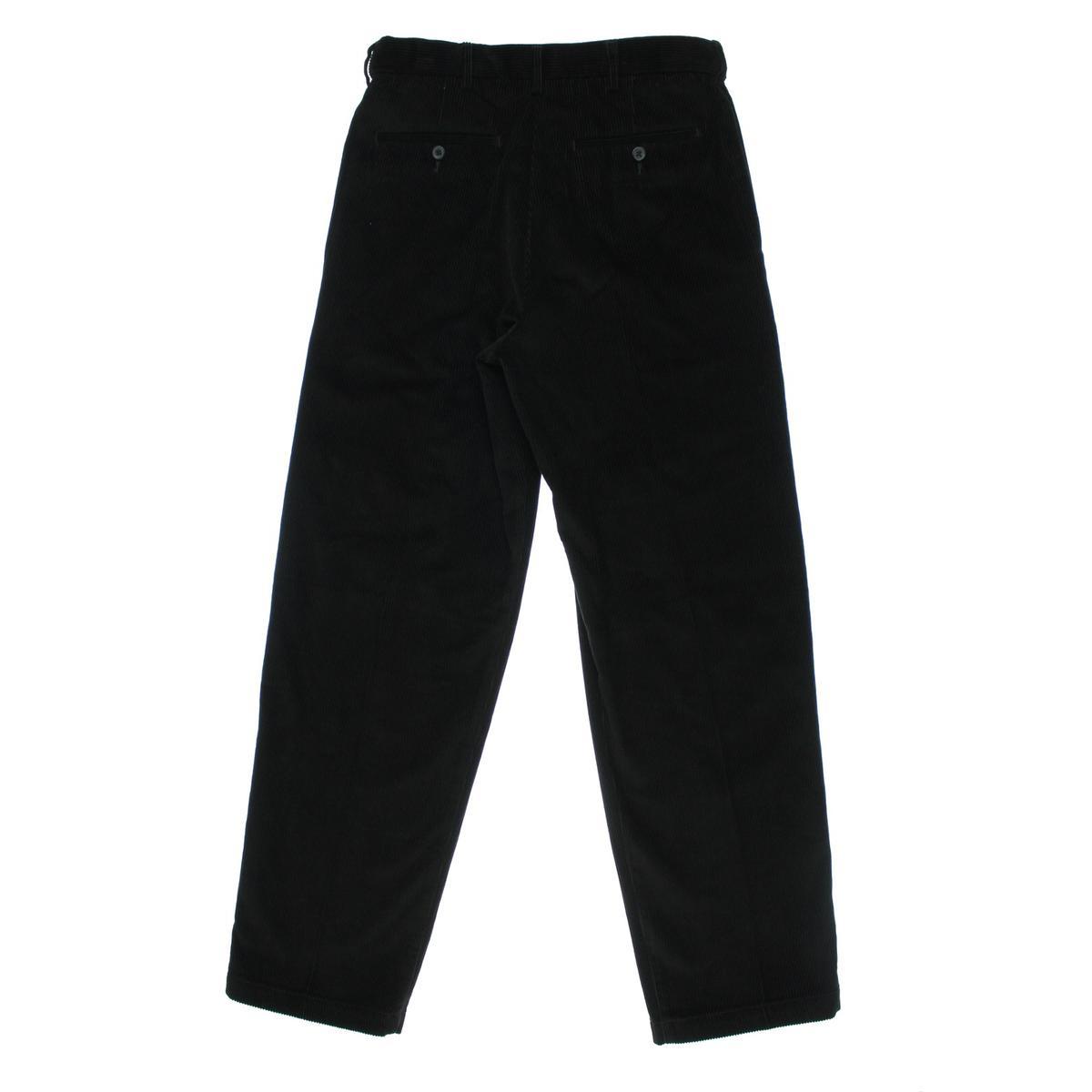mens comfort waist corduroy pants - Pi Pants